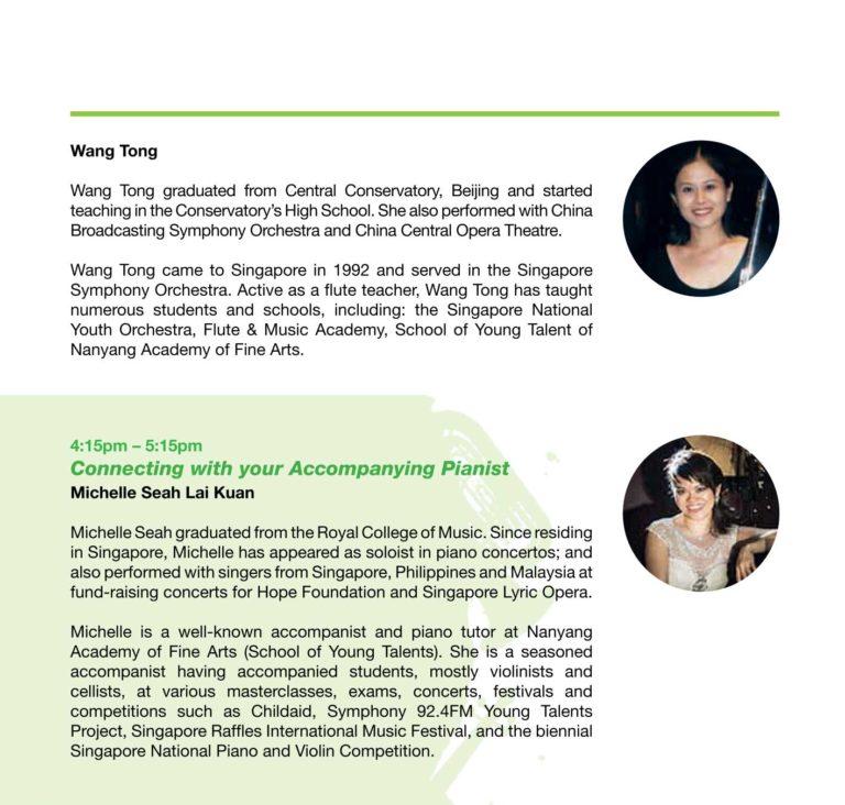 Masterclass | Singapore Raffles International Music Festival